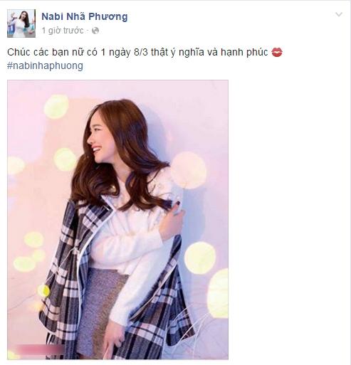 Bạn gái Trường Giang - Nhã Phương đăng tải hình ảnh với nụ cười rạng ngời trong ngày 8/3. - Tin sao Viet - Tin tuc sao Viet - Scandal sao Viet - Tin tuc cua Sao - Tin cua Sao