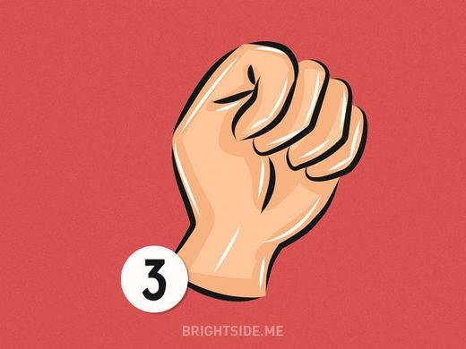 Quyến rũ là đặctính được thể hiện quakiểu nắm tay thứ 3. (Ảnh: Internet)