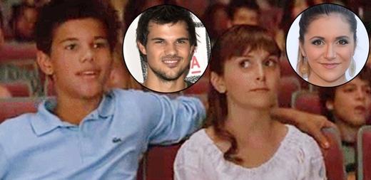 Taylor Lautner và Alyson Stoner: cặp diễn viên nhí của phim hài gia đình Cheaper by the Dozen 2 (2005) cũng có số phận trái ngược giống như Josh Hutcherson và AnnaSophia Robb.