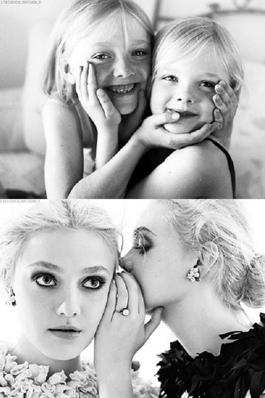 Dakota và Elle Fanning: đây có lẽ là một trong số các cặp chị em đình đám và có bề dày diễn xuất ấn tượng bậc nhất Hollywood.