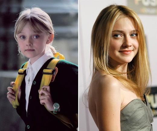 Dakota Fanning từ khi còn bé tí đã tham gia hàng loạt phim điện ảnh đáng chú ý mà không phải phim nào cũng dành cho trẻ con, chẳng hạn I Am Sam (2001), Man on Fire (2004), War of the Worlds (2005), The Secret Life of Bees (2008), có một vai nhỏ hết sức ấn tượng trong The Twilight Saga, và hiện vẫn tiếp tục tham gia diễn xuất với những vai trưởng thành hơn.