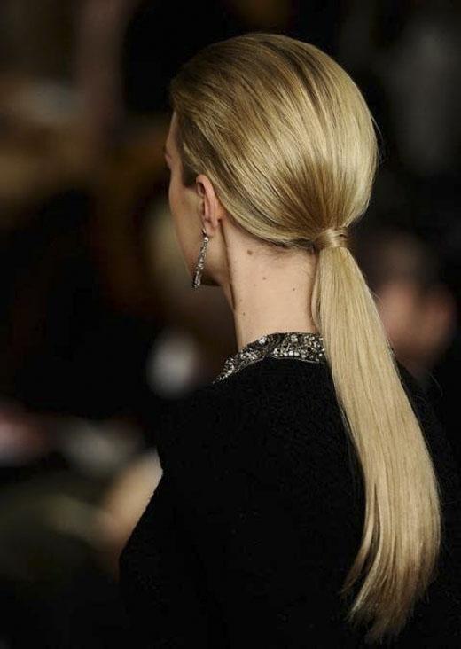 Đây là kiểu tóc của những người phụ nữ bình tĩnh và chu đáo. (Ảnh: Internet)