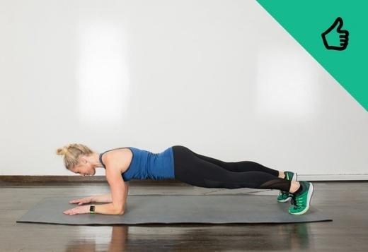 Tập thể dục đúng tư thếsẽ giúp săn chắc cơ thể. (Ảnh: Internet)