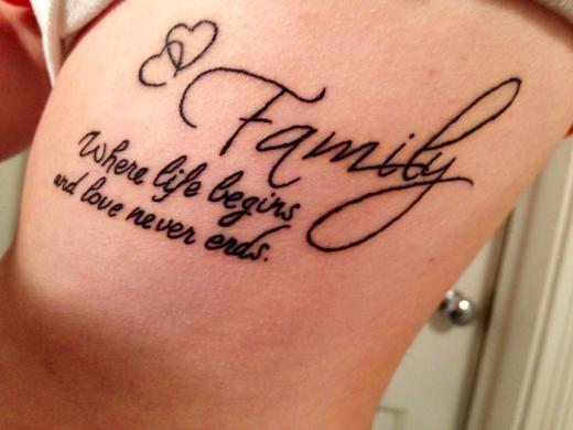 """""""Gia đình là nơi bắt đầu cuộc sống và cũng là nơi tình yêu không bao giờ dừng lại"""". (Ảnh: Internet)"""