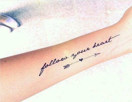 """""""Hãy nghe theo những gì trái tim mách bảo"""".(Ảnh: Internet)"""