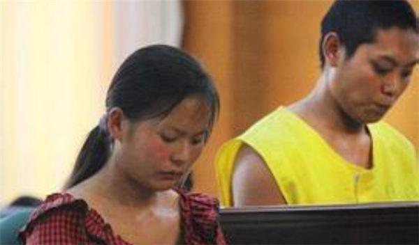 Hai vợ chồngA Duan vàXiao Mei tại tòa. Ảnh: Internet