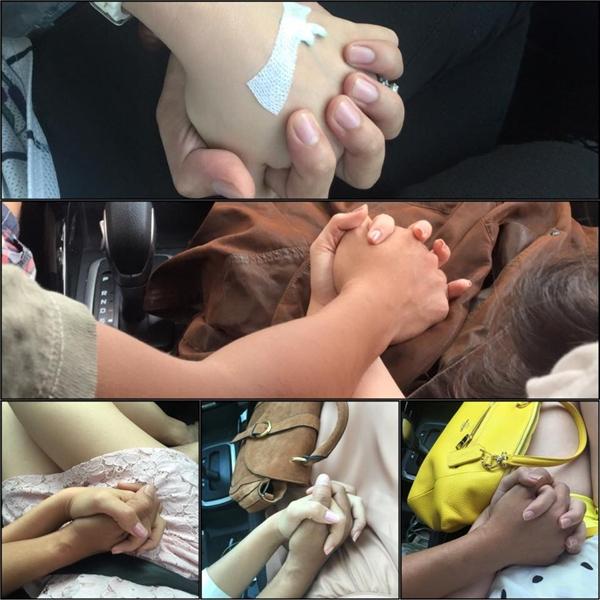Đi kèm theo đó là hình ảnh hai bàn tay nắm chặt, đan xen lấy nhau khiến nhiều người phải ngưỡng mộ. - Tin sao Viet - Tin tuc sao Viet - Scandal sao Viet - Tin tuc cua Sao - Tin cua Sao
