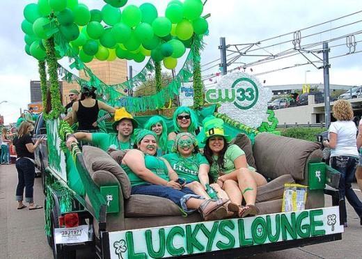 Cộng đồng Dallas hưởng ứng ngày Saint Patrick's Day. (Ảnh: Internet)