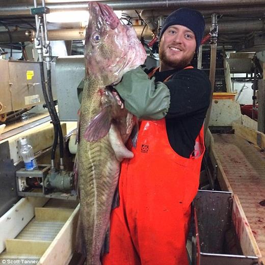 Scott Tanner là người đã câu được con cá này. (Ảnh: Internet)