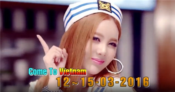 Hé lộ thông tin mới nhất về sự kiện T-ara sang Việt Nam sắp tới