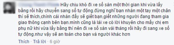 Bình luận của bạn C.T.P. (Ảnh: Ảnh chụp màn hình từ FBNV)