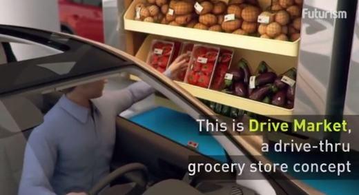 ...mà sẽ ngồi trên ô tô... (Ảnh: Chụp màn hình)