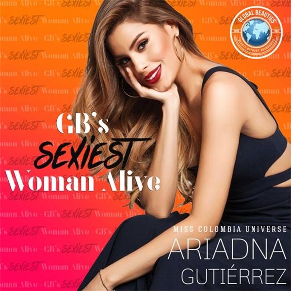 Vừa qua, chuyên trang nhan sắc hàng đầu thế giới Global Beauties đã đưa ra bảng xếp hạng Những người phụ nữ gợi cảm nhất đương đại giữa hai năm 2015, 2016. Vượt qua nhiều đối thủ nặng kí, Ariadna Gutierrez - Á hậu 1 Hoa hậu Hoàn vũ 2015 đã chiến thắng danh hiệu này.
