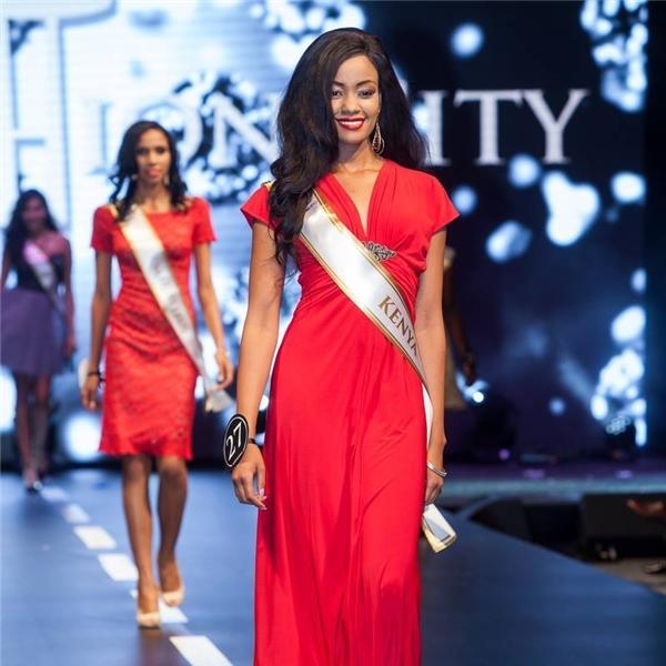 Vị trí cuối cùng trong danh sách mà Global Beauties đưa ra là Margaret Muchemi người đẹp đại diện Kenya tại Hoa hậu Siêu quốc gia 2015.
