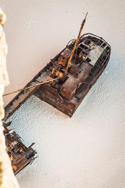 Hình dáng con tàu khiến ta liên tưởng đến câu chuyện cổ tích. (Ảnh: Internet)