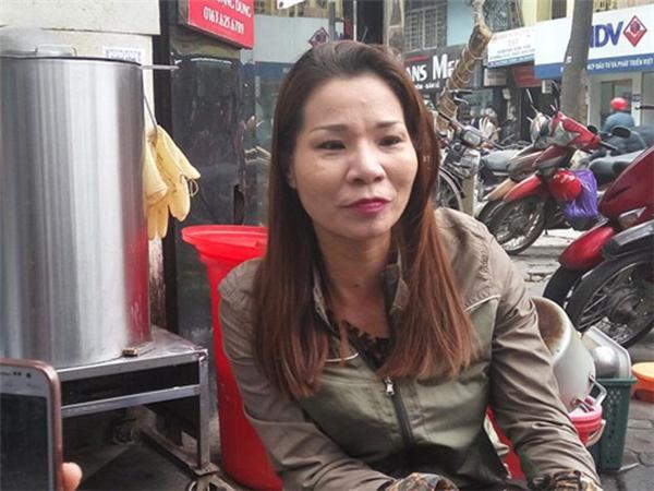 Chị Tạ Thị Thu Trang (1974) ở Hà Nội