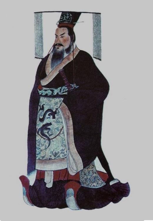 Chân dung vị hoàng đế đầu tiên của Trung Hoa. (Ảnh: ancient-origins)