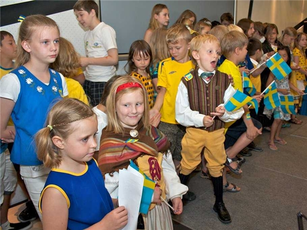 Trẻ em Thụy Điển được chính phủ hỗ trợ rất nhiều trong học tập.(Ảnh: Internet)