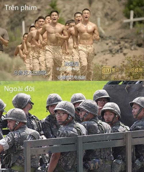 Thực tế các quân nhân không cường tráng và quyến rũ như trong phim