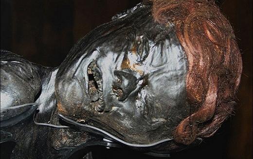 Kinh ngạc xác ướp sống động như đang ngủ