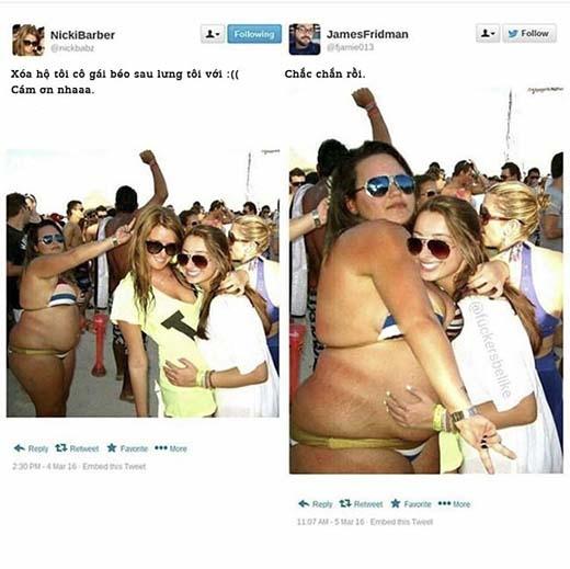 Ôm người béo thích hơn đấy!