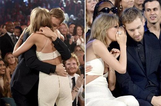 """Mặc dù còn trẻ (Calvin 32 tuổi, Taylor 25 tuổi), nhưng độ giàu có, quyền lực của cặp đôi này không hề kém cạnh những cặp sao """"cỡ bự"""" như Beyoncé - Jay Z hay Angelina Jolie - Brad Pitt. (Ảnh: Internet)"""