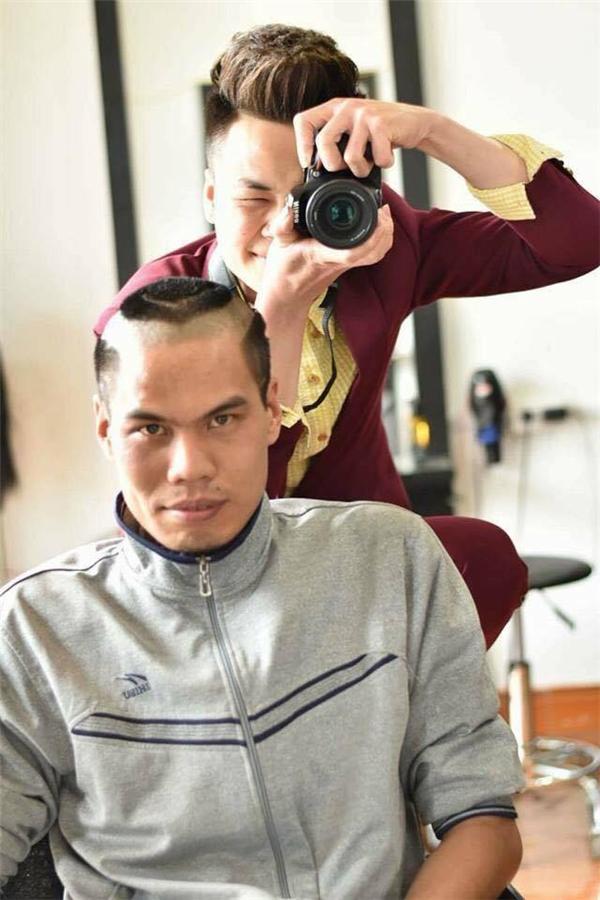 Sau khi hoàn thành toàn bộ kiểu tóc. (Ảnh: Internet)