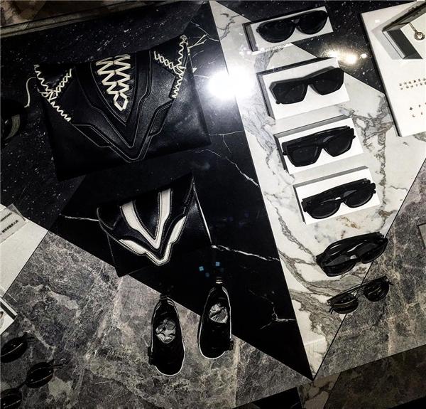 Một vài món đồ hiệu của Mae Tan. (Ảnh: Instagram)