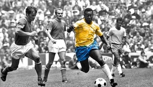 """""""Vua bóng đá"""" Pele. (Ảnh: Panamericanworld)"""
