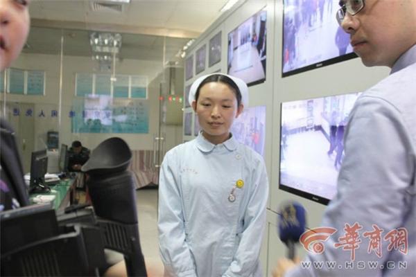 Cô y tá Li Ming suýt bị người đàn ông quẫn trí thiêu sống. Ảnh: NetEase