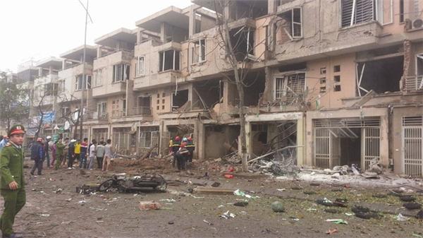 Hiện trường vụ nổ khiến ít nhất 4 người đã tử vong. Ảnh: Internet
