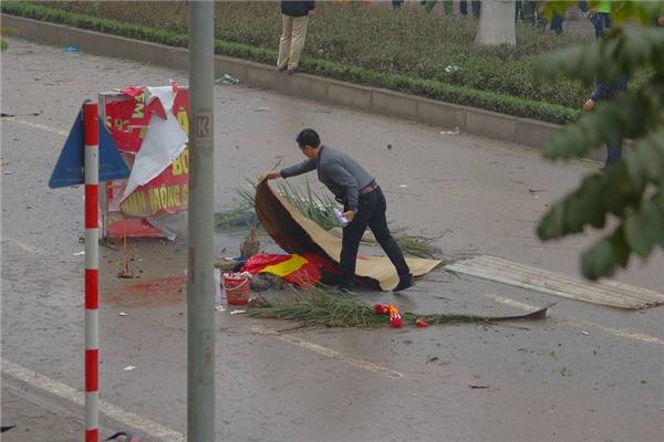 Hình ảnh khủng khiếp về vụ nổ kinh hoàng này. Ảnh: Internet