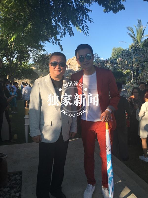Ông trùm giải trí Lưu Yến Minh và diễn viên điện ảnh Đồng Đại Vy