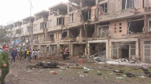 Thông tin bất ngờ về vụ nổ kinh hoàng ở Hà Nội