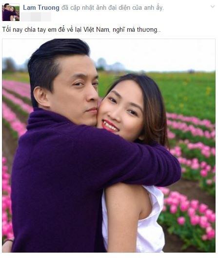 Dòng chia sẻ mới nhất của Lam Trường trên trang cá nhân. - Tin sao Viet - Tin tuc sao Viet - Scandal sao Viet - Tin tuc cua Sao - Tin cua Sao