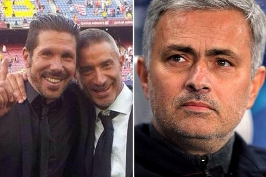 Mourinho muốn đem giám đốc của Atletico về MU. (Ảnh: thethaovietnam.vn)