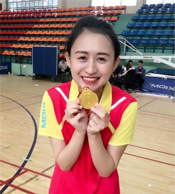 Phương Thảo từng giành được 4 huy chương vàng bóng bàn tỉnh Hà Giang. (Ảnh: Intenet)