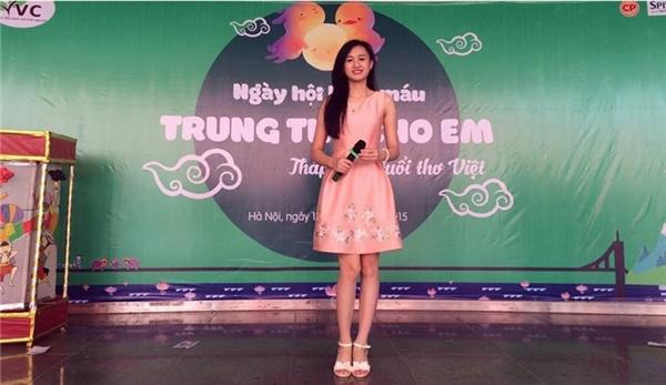 Phương Thảo là một cô gái trẻ khá năng động và nhiệt huyết. Cô nàng sinh viên Đại học thương mại từng là MC của nhiều chương trình tại trường đại học.