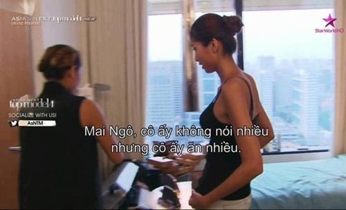 Ngô Quỳnh Mai bị chê nói ít, ăn nhiều. - Tin sao Viet - Tin tuc sao Viet - Scandal sao Viet - Tin tuc cua Sao - Tin cua Sao