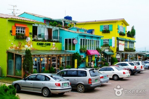 Làng Nghệ thuật Heyri ở thành phố Paju. (Ảnh: Internet)