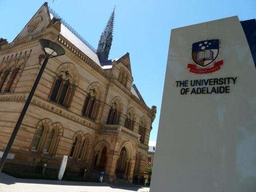 Ngôi trường gần 150 tuổi tại Nam Úc – ĐH Adelaide (ảnh ĐH Adelaide).
