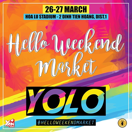 Bùng nổ sức trẻ cùng Hello Weekend Market