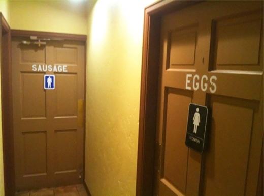 Xúc xích và trứng, nam và nữ!(Ảnh: Internet)