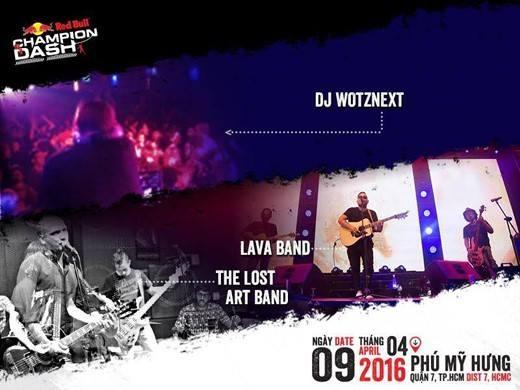 DJ Wotznext, Lava Band, The Lost Artist Band sẽ là những nghệ sĩ tài năng hứa hẹn mang đến một bữa tiệc âm nhạc cực chất, cực nhộn vào ngày 09/04 sắp tới. (Ảnh: Internet)