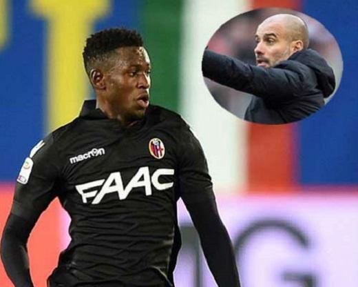 """Pep Guardiola cũng không quên xây dựng triều đại mới ở Man City với những """"mầm non"""" triển vọng (trong ảnh là Amadou Diawara củaBologna). (Ảnh: Internet)"""