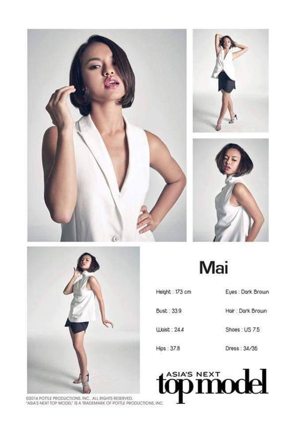 Thử thách khiến Quỳnh Mai phải dừng chân tại Asia's Next Top Model 2016.