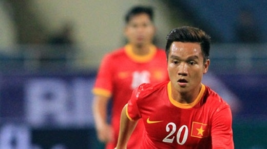 Tiền vệ phải: Đinh Thanh Trung. (Ảnh: Internet)
