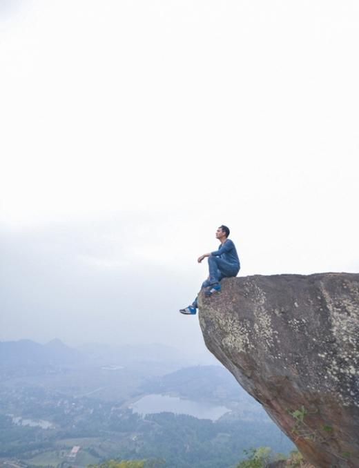 Khi con người thả mìnhgiữa sông núi đất trời...
