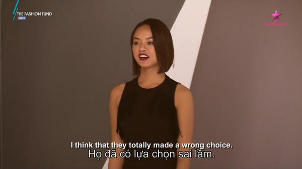 Quỳnh Mai cho rằng cô nể giám khảo nhưng không phục quyếtđịnh của họ.