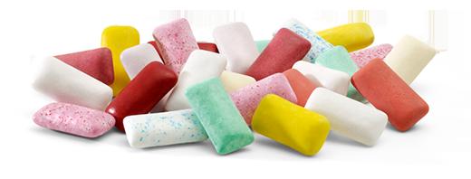 Chất làm trắng trong kẹo cao su chính là tác nhân gây ung thư. (Ảnh: Internet)